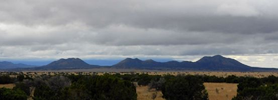 Storm Clouds, Ortiz Mountains, New Mexico